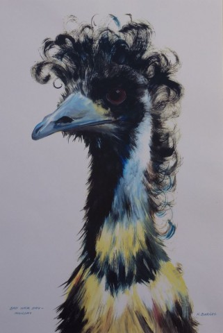 Bad Hair Day - Mon.  Limited Edition Print of 40